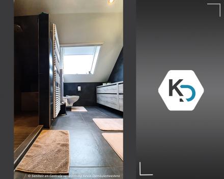 Badkamer totaalrenovatie met naadloos panel marmerlook_badkamer renovatie van A tot Z_Kevin Demeulemeestere