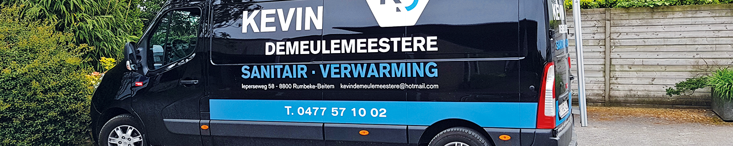 Contacteer Sanitair en Centrale verwarming Kevin Demeulemeestere